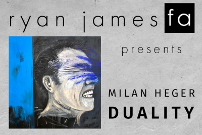 Milan Heger's Art Exhibition DUALITY